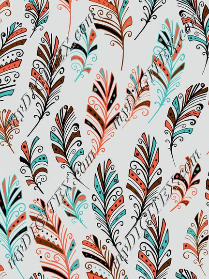 Southwest Tribal Feathers 1