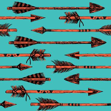 Southwest Tribal Horizontal Arrows