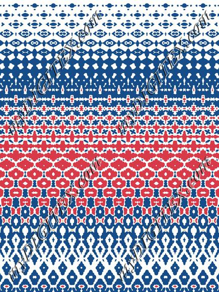 Placement-Mosaic-Red Blue