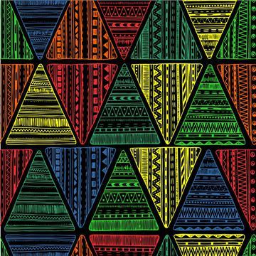 Reggae Tribal Triangles