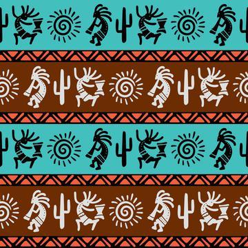 Southwest Tribal Kokopelli