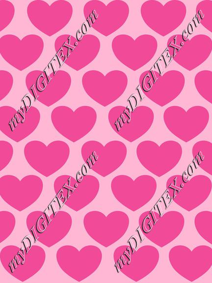 Pink hearts, Love