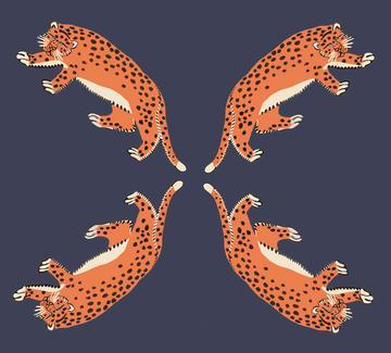 leopard blue1