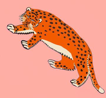leopard salmon solo