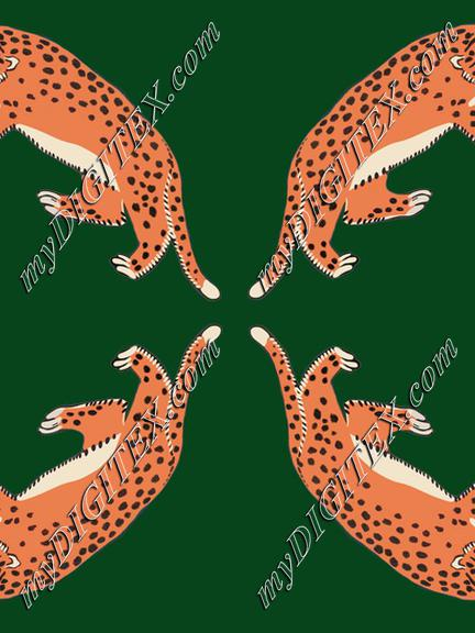 four leopards
