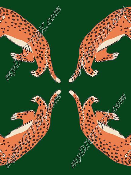 four leopards