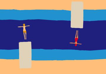 swimmer both