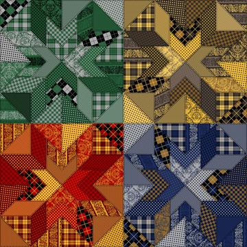 Common Rooms Quilt