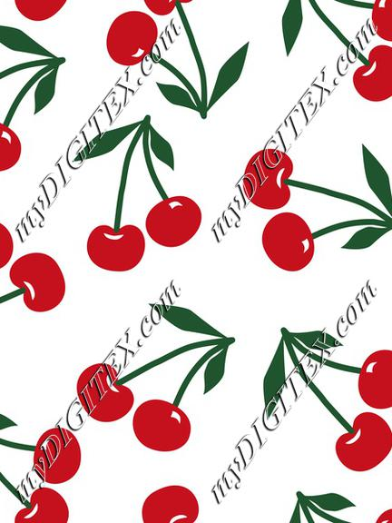 Cherries on White, Cherry fruit